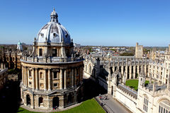 miasto Oxford Fotografia Stock