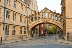 miasto Oxford uk Obraz Royalty Free