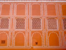 Miasto pałac ściana, Jaipur, India zdjęcie stock