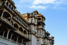 Miasto pałac udaipur Rajasthan ind obraz stock