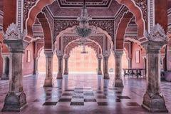 Miasto pałac w Jaipur, India zdjęcie stock