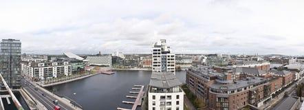 miasto panorama Obrazy Royalty Free