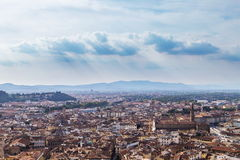 Miasto panorama Florencja Zdjęcia Stock