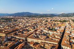 Miasto panorama Florencja Zdjęcia Royalty Free