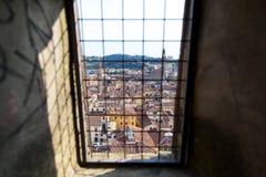 Miasto panorama Florencja fotografia royalty free