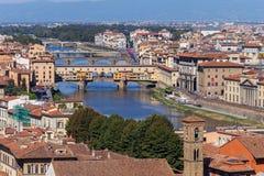 Miasto panorama Rzym Zdjęcia Royalty Free