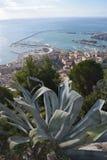 Miasto panoramiczny port salerno Zdjęcia Royalty Free