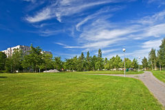 miasto park Obrazy Stock