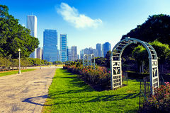 Miasto park fotografia royalty free