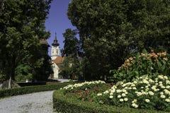 Miasto park, Daruvar, Chorwacja Zdjęcia Stock