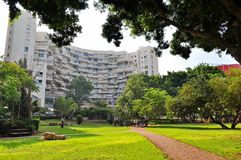 Miasto park w Rishon Lezion zdjęcie royalty free