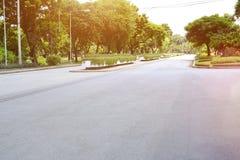 Miasto park w Thailand i tła fotografii Zdjęcia Stock