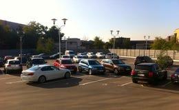 Miasto parking fotografia royalty free