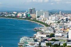 miasto Pattaya Obrazy Stock