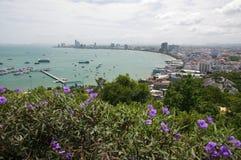miasto Pattaya Thailand Obrazy Royalty Free