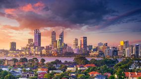Miasto Perth zdjęcia stock