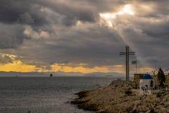 Miasto Piraeus Zdjęcie Royalty Free