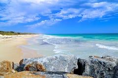 Miasto plaża Fotografia Stock