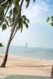 Miasto plaża Pattaya w Tajlandia Fotografia Royalty Free