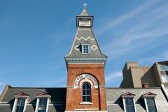 Miasto Pożarniczego działu Oryginalny budynek Kingston, Kanada - zdjęcia royalty free