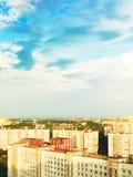 miasto powietrzny widok Zdjęcie Stock
