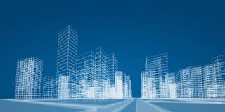 Miasto projekt ilustracja wektor
