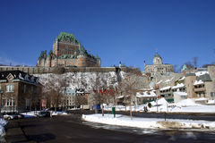 miasto Quebec Obrazy Royalty Free