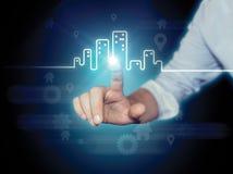 Miasto Real Estate fotografia stock