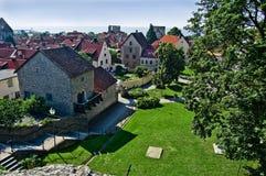 miasto średniowieczny Zdjęcia Royalty Free