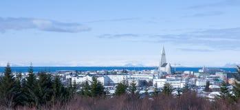miasto Reykjavik Zdjęcia Royalty Free