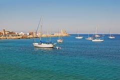 Miasto Rhodes Zdjęcie Royalty Free