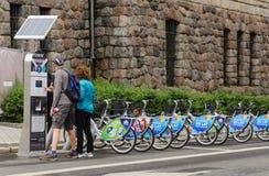 Miasto rower Zdjęcie Royalty Free