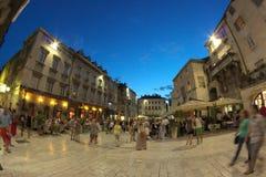 Miasto Rozszczepiający w Chorwacja Zdjęcia Royalty Free