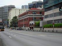 Miasto ruch drogowy Zdjęcia Stock