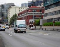 Miasto ruch drogowy Obraz Royalty Free
