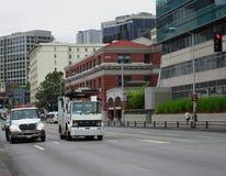 Miasto ruch drogowy Fotografia Stock