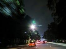 Miasto ruchu drogowego plama Fotografia Stock