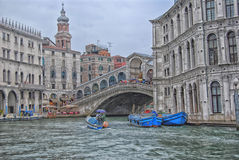 Miasto rzeka Fotografia Royalty Free
