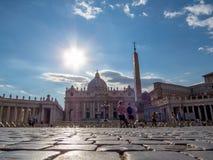 miasto Rzymu Watykanu Zdjęcie Royalty Free