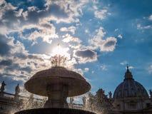 miasto Rzymu Watykanu Zdjęcia Royalty Free