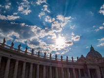 miasto Rzymu Watykanu Obrazy Stock
