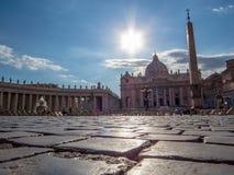 miasto Rzymu Watykanu Fotografia Royalty Free