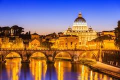 miasto Rzymu Watykanu Włochy Fotografia Royalty Free
