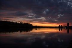 miasto słońca Obraz Royalty Free