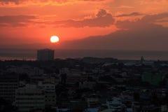 miasto słońca zdjęcie royalty free