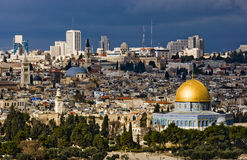 miasto saint Jerusalem Zdjęcia Royalty Free