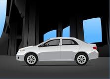 Miasto samochód Ilustracji