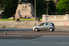 Miasto samochód obraz royalty free