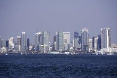 Miasto San Diego, CA zatoka Zdjęcie Stock
