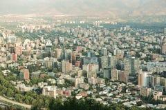 miasto Santiago Fotografia Stock